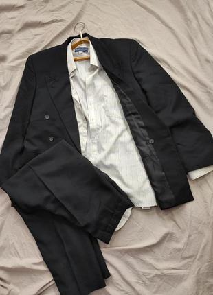 Мужской деловой/свадебный костюм style cizgi
