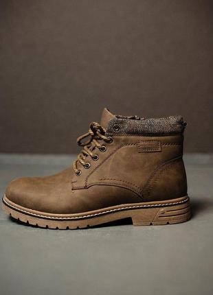 Шикарные мужские зимние ботинки/ сапоги с тёплым мехом 😍