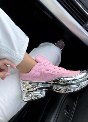 Эксклюзивные женские кроссовки adidas x raf simons ozweego pin...
