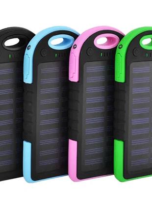 Power Bank Samsung ES500 8000mAh 2USB(1A+1A) с солнечной батареей