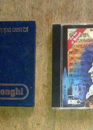 CD Диски лучшее из Верди, лучшее из  Моцарта  250грн./шт.