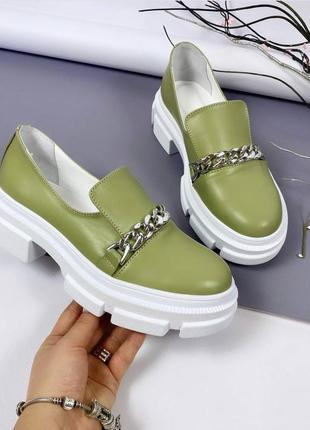 Туфли  материал: натуральная кожа