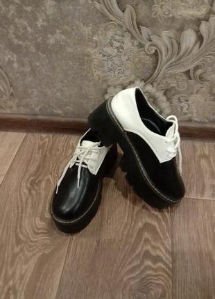 Ботинки на платформе, мартинсы