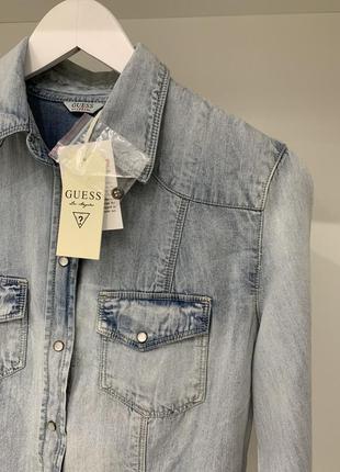 Guess рубашка джинсовая оригинал
