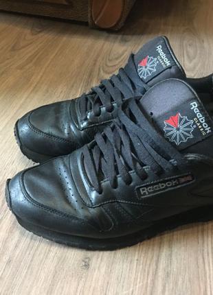 ОРИГИНАЛ. Reebok Classic Black Leather