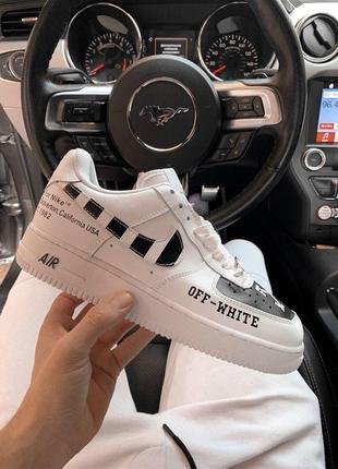 Шикарные мужские кроссовки nike air force low off-white 😍 (вес...