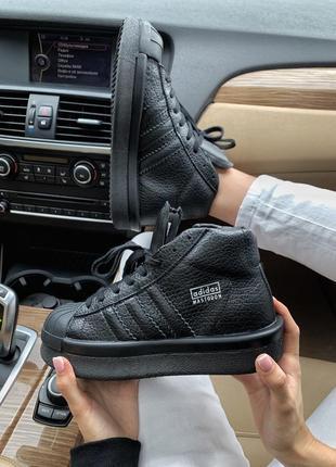 Шикарные кроссовки adidas x rick owens triple black 😍 (весна/ ...