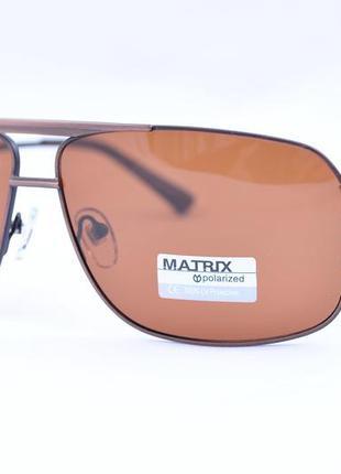 Фирменные солнцезащитные очки matrix polarized  mt8416 на круп...