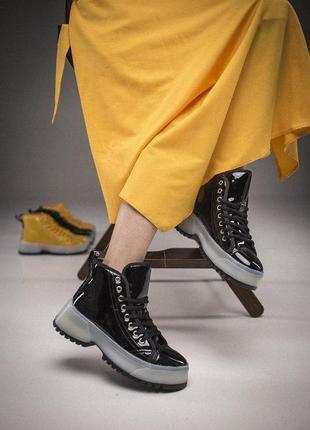 Шикарные женские ботиночки/ сапоги на платформе 😍 (демисезон/ ...