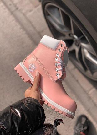 Шикарные женские осенние ботинки/ сапоги classic boot pink 😍 (...