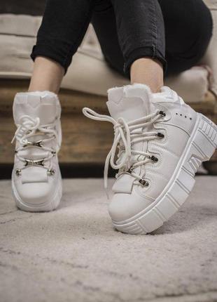 Шикарные женские зимние ботиночки/ сапоги на платформе 😍 (зима...