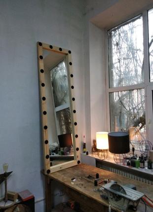 Зеркало в полный рост с подсветкой