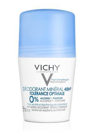 Vichy  déodorant minéral 48h минеральный дезодорант с 48-часов...