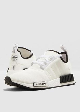 "Кроссовки adidas nmd r1 ""white/black"""