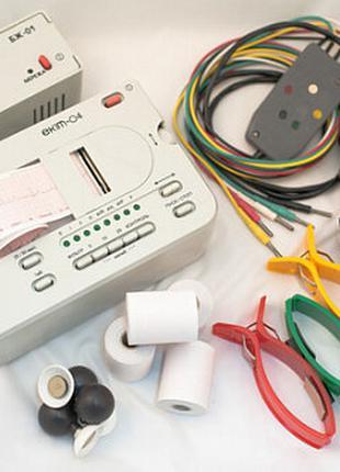 Электрокардиограф одноканальный портативный ЕК1Т-04