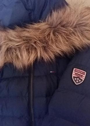 Пуховик, куртка tommy hilfiger, пальто