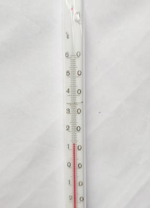 Термометр стеклянный спиртовой от -80 до 60 градусов