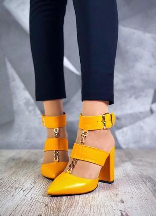 ❤невероятные женские стильные открытые туфли ❤
