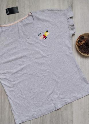 Женская домашняя футболка с коротким рукавом esmara