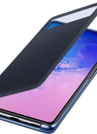 Чохол SAMSUNG S View Wallet Cover White для Samsung S10 Lite