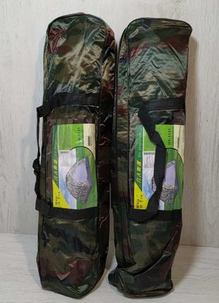 АКЦИЯ! Палатка 6-ти местная камуфляжная механическая 220х250х150