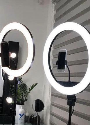 Кольцевая лампа 45 см 55 Вт,ring lamp освещение для...