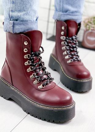 ❤ женские  демисезонные осенние ботинки сапоги валенки на флис...
