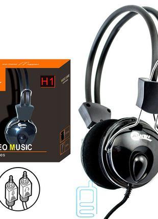 Наушники для ПК с микрофоном JEWAY H1 черные