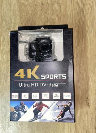 Екшн камера 4K DVR Sport S2 WIFI waterproof