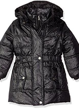 Красивое пальто pink platinum. р. 7-8 лет маломерит