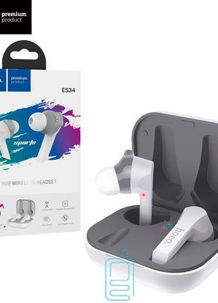 Bluetooth наушники с микрофоном Hoco ES34 белые