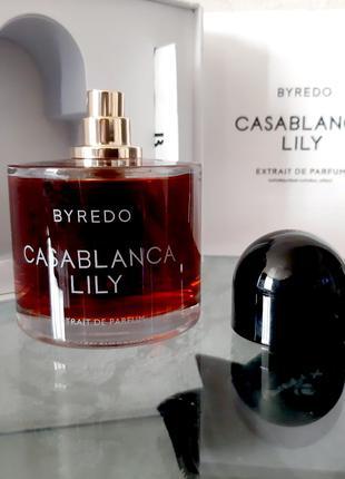 Byredo Casablanca Lily Оригинал EDP  3 мл Затест_парф.вода