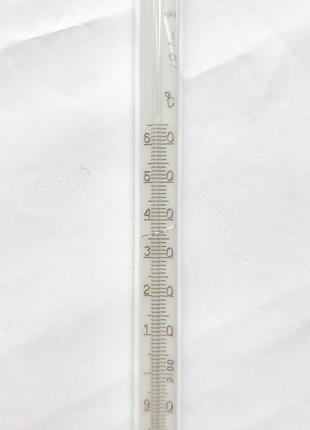 Термометр Стеклянный Ртутный От 0 До 360 Градусов