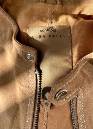 Куртка из натуральной замши Vera Pelle