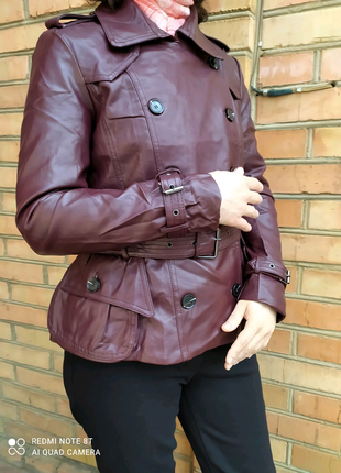 Куртка кожаная піджак кожанка