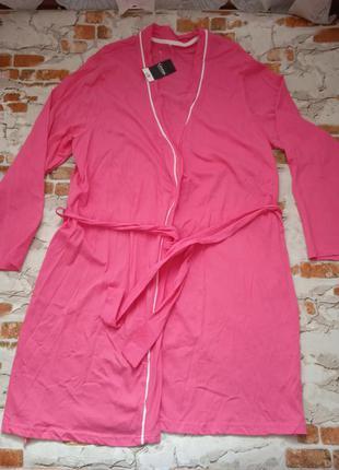 Розовый халат george george