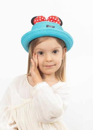 Шляпка детская микки маус