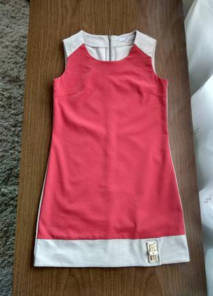 Брендовое платье мини Elisabetta Franchi оригинал