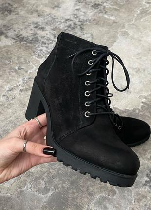 Ботинки Vagabond кожаные