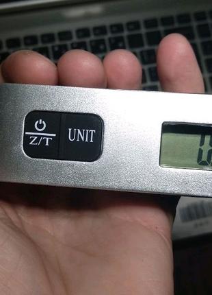 Весы кантерные 50 кг плюс измеритель температуры.