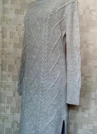 Стильное платье-свитер с косами - хит сезона fashion union.