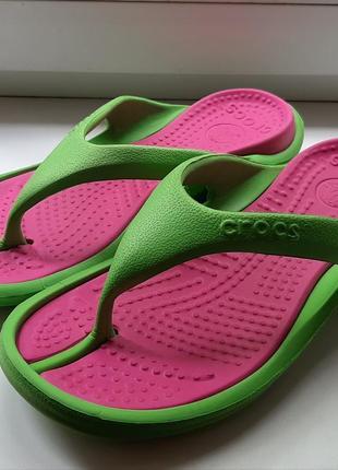 Фирменные вьетнамки crocs(original).