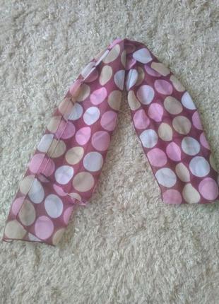 Платок шифоновый лента шарф на волосы