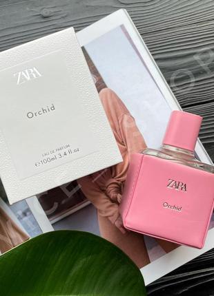 Zara orchid духи туалетная вода парфюмерия оригинал