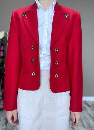 Шерстяной, эксклюзивный пиджак