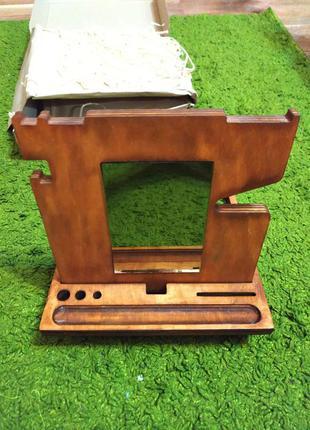 Органайзер деревянный