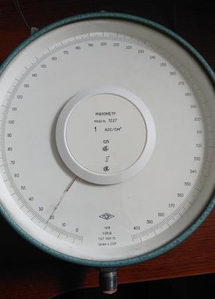 Манометр взірцевий модель 1227 на 1 кгс/см2