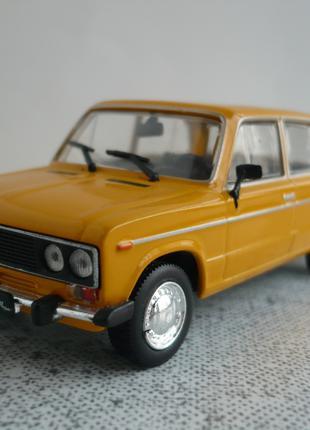ВАЗ-2106 Жигули 1:43 Автолегенды СССР №56