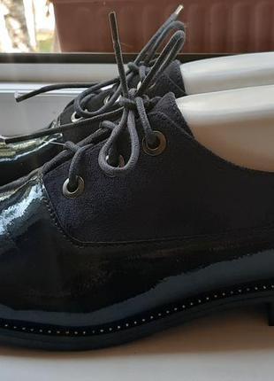 Стильные туфли-оксфорды foreverfolie.