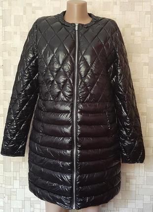 Стильное стеганное пальто-куртка amisu.